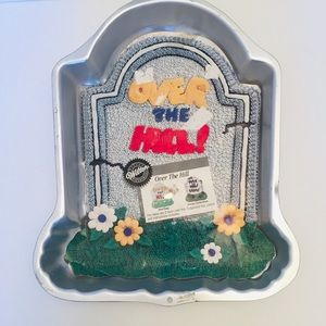 Over The Hill Tombstone Wilson Cake Pan